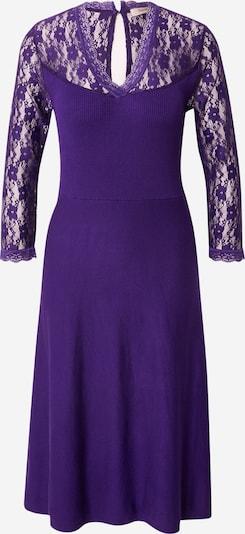 Derhy Robes en maille 'QUENNS' en violet foncé, Vue avec produit