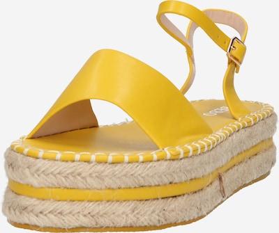 BEBO Sandale 'MONROE' in gelb, Produktansicht