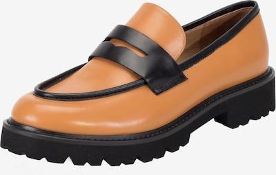 Ekonika Loafer in cognac / schwarz, Produktansicht