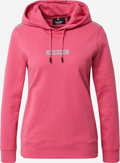 Calvin Klein Performance Спортен блузон с качулка в сиво / розово, Преглед на продукта