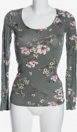 Tezenis Langarm-Bluse in S in khaki / pink / weiß, Produktansicht