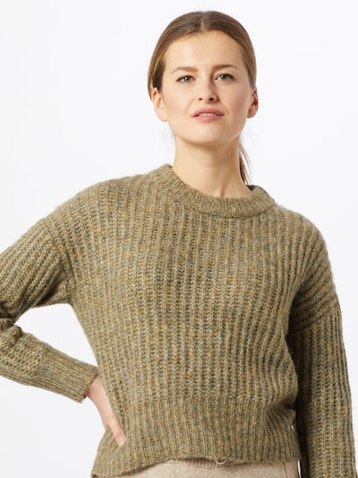 ONLY Pullover 'New Chunky' i lysegrøn: Frontvisning