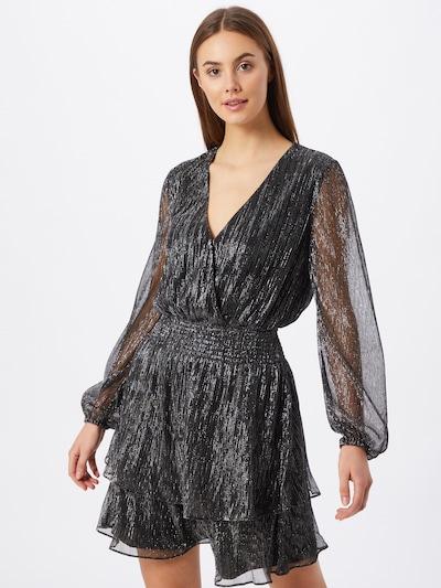 Forever New Kleid 'Katie' in schwarz / silber, Modelansicht