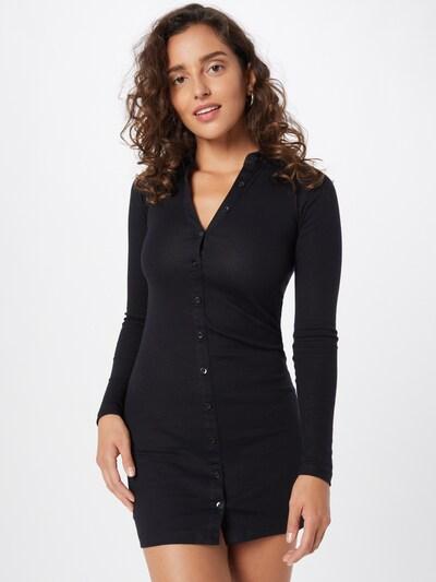 Motel Kleid 'LUIZA' in schwarz, Modelansicht