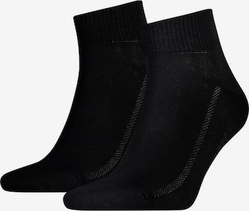 LEVI'S Athletic Socks in Black