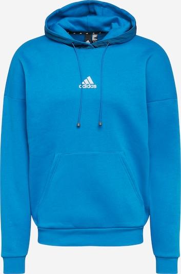 ADIDAS PERFORMANCE Športová mikina - modrá / tmavohnedá / svetločervená / biela, Produkt