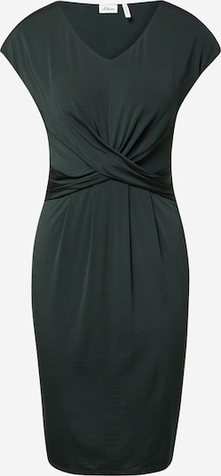 s.Oliver BLACK LABEL Kleid in dunkelgrün, Produktansicht