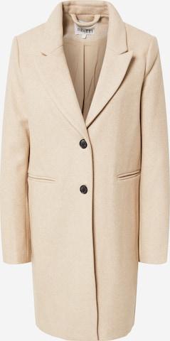 Palton de primăvară-toamnă 'Petrine' de la mbym pe bej