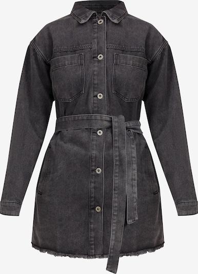 Finn Flare Jeansjacke in schwarz, Produktansicht