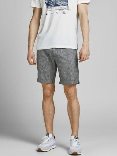 JACK & JONES Pantalon chino 'Dave ' en gris, Vue avec modèle