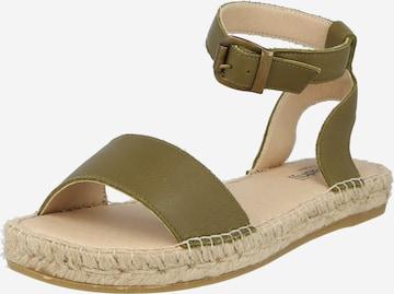 espadrij l´originale Sandale 'Nimes' in Grün