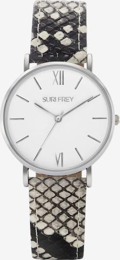 Suri Frey Uhr 'Amy' in beige / schwarz / silber, Produktansicht