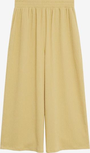 Pantaloni 'LEONOR' MANGO pe galben, Vizualizare produs