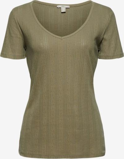 EDC BY ESPRIT T-Shirt in oliv, Produktansicht