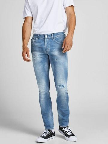 JACK & JONES Jeans 'Glenn Spark' in Blau