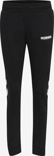 Hummel Sportbroek in de kleur Zwart / Wit, Productweergave