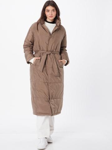 Brixtol Textiles Between-Seasons Coat 'Ana' in Brown