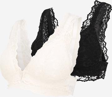 MAMALICIOUS Nursing bra 'Senia' in Black