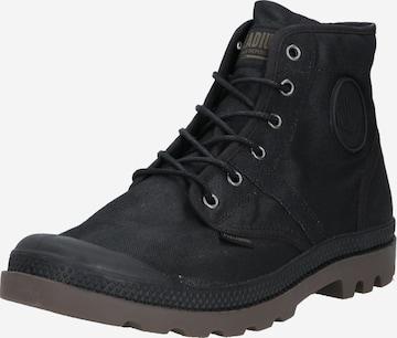 Palladium Boots 'Pampa Hi Zip WL' in Grau