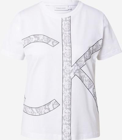 Calvin Klein Shirt in Grey / Black / White, Item view