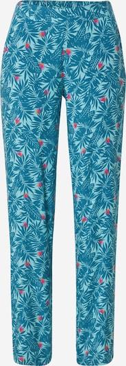 ETAM Pantalon 'BRENDY' en turquoise / bleu ciel / rose / rouge, Vue avec produit
