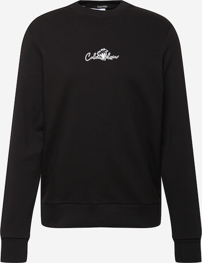Megztinis be užsegimo iš Calvin Klein, spalva – juoda / balta, Prekių apžvalga