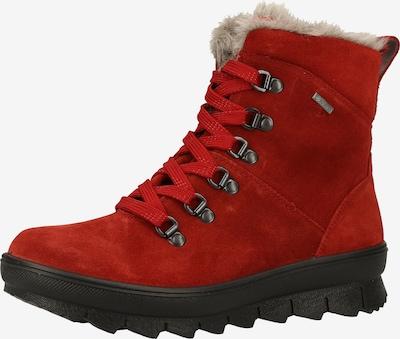 Legero Bottines à lacets en rouge, Vue avec produit