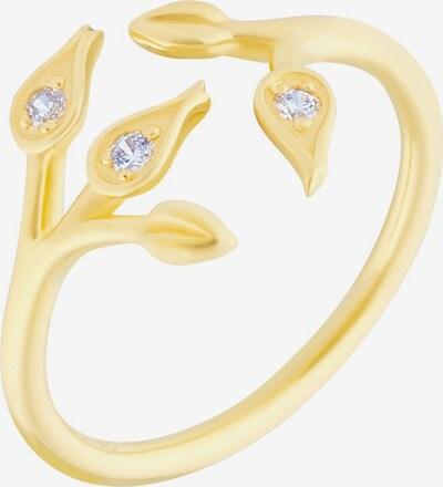 ID Fine Ring in gold / weiß, Produktansicht