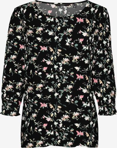 Vero Moda Petite Shirt 'Simply Easy' in beige / hellgelb / hellgrün / rosa / schwarz, Produktansicht
