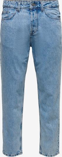 Jeans 'Avi Beam' Only & Sons pe albastru denim, Vizualizare produs