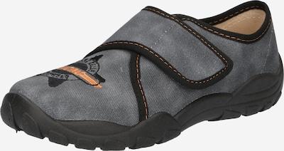ELEFANTEN Zapatillas de casa 'Pan Prisco' en gris oscuro / naranja claro / negro, Vista del producto