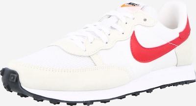 Nike Sportswear Ниски маратонки 'Challenger' в бежово / червено / бяло, Преглед на продукта
