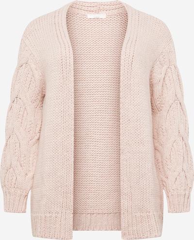 Guido Maria Kretschmer Curvy Collection Strickjacke 'Megan' in rosa, Produktansicht
