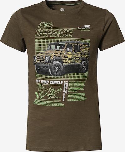 LEMON BERET Shirt in Dark grey / Olive / Kiwi / White, Item view