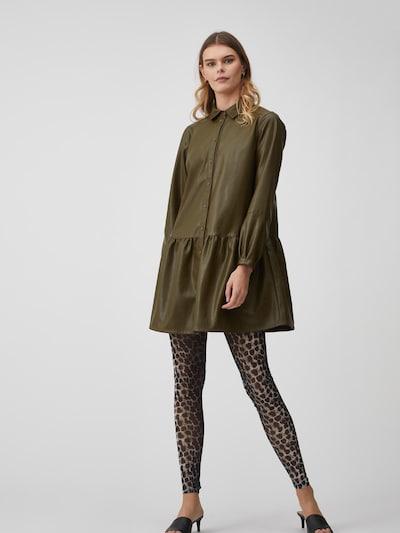 A-VIEW Hemdkleid 'Iris PU' in grün, Modelansicht