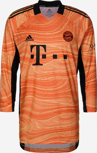 ADIDAS PERFORMANCE Maillot 'FC Bayern München Torwart Away 2021/2022' en orange / noir, Vue avec produit