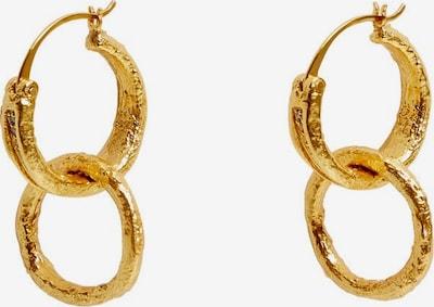 MANGO Kolczyki 'Svetlan' w kolorze złotym, Podgląd produktu