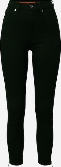 HUGO Jeans 'Lou' in black denim: Frontalansicht