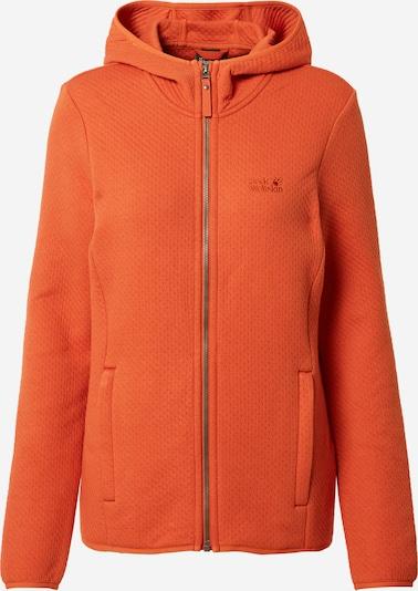 JACK WOLFSKIN Fleecejacke 'NATORI' in orange, Produktansicht