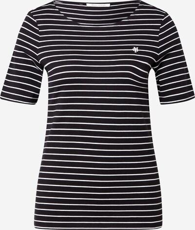 Marc O'Polo T-shirt en noir / blanc, Vue avec produit