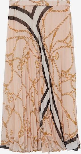 MANGO Spódnica w kolorze złoty żółty / różany / czarny / białym, Podgląd produktu