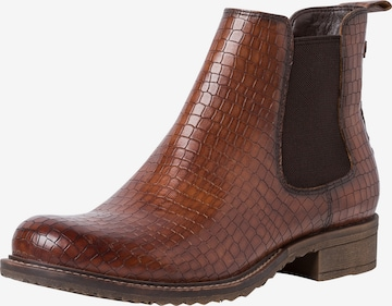 TAMARIS Chelsea Boots in Brown