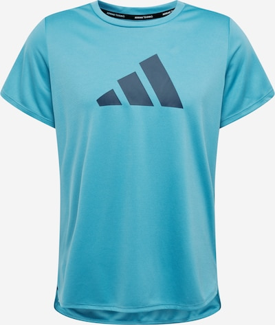 ADIDAS PERFORMANCE T-Shirt in himmelblau / dunkelblau, Produktansicht