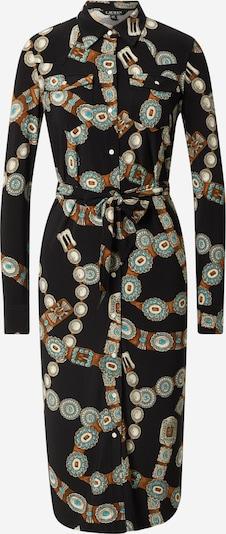 Lauren Ralph Lauren Kleid 'DOANE' in blau / braun / grau / schwarz / weiß, Produktansicht