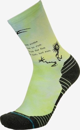Stance Socken in neongelb / limette / hellgrün / schwarz, Produktansicht