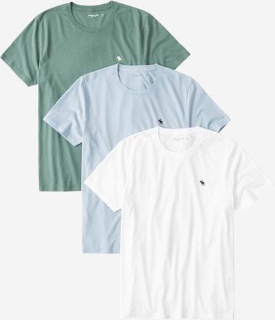 Abercrombie & Fitch Koszulka w kolorze niebieski / zielony / białym, Podgląd produktu