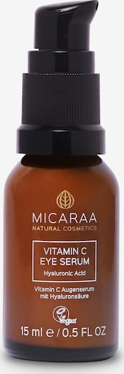MICARAA Naturkosmetik Augenserum Vitamin C Eye Serum 15ml in braun, Produktansicht
