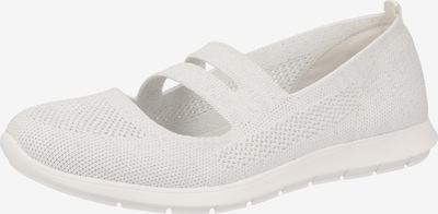 REMONTE Ballet Flats with Strap in White, Item view