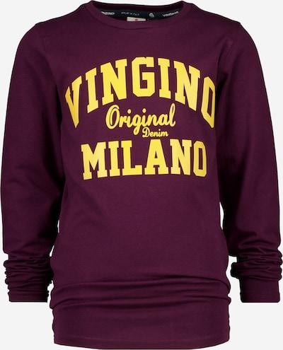 VINGINO Shirt in de kleur Geel / Bordeaux, Productweergave