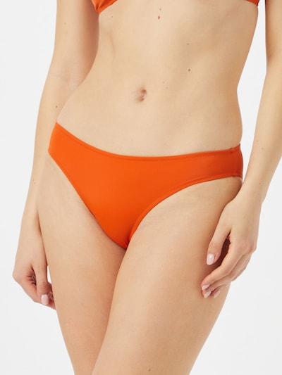 Slip costum de baie 'Malou' Samsoe Samsoe pe portocaliu închis, Vizualizare model